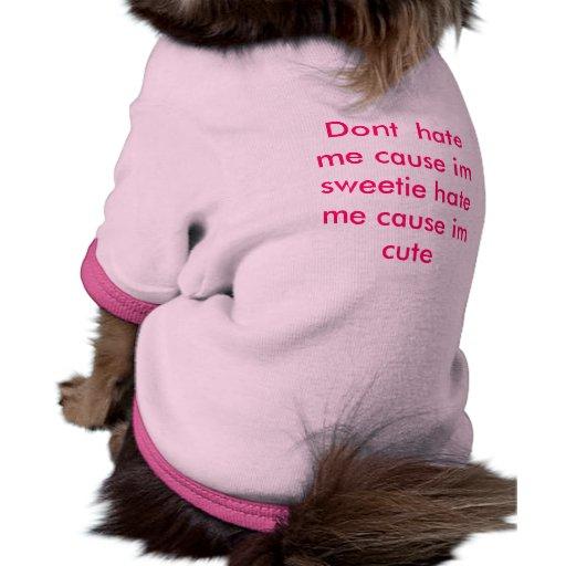 No me odie camisas de perritos