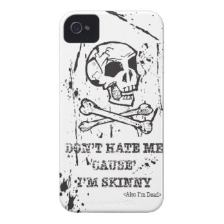 NO ME ODIE CAUSA que soy HOMBRE FLACO Case-Mate iPhone 4 Coberturas