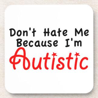 No me odie porque soy autístico posavasos