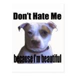 No me odie porque soy pitbull hermoso postales