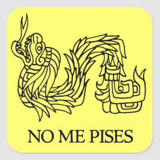 No Me Pises (Don't Tread on Me) Sticker