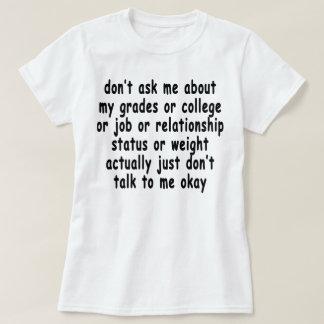 no me pregunte acerca del T-Shirts.png de mis Remera