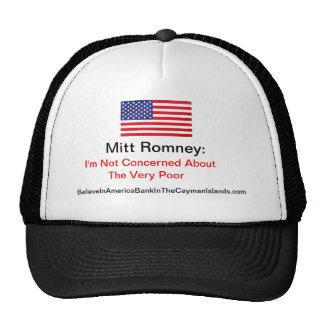 No me refiero sobre el muy pobre gorras