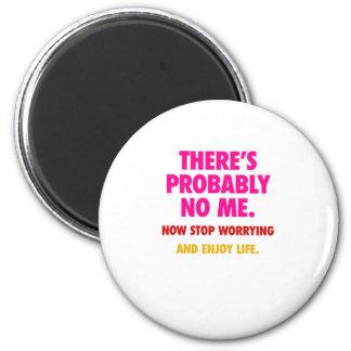 No me refrigerator magnets