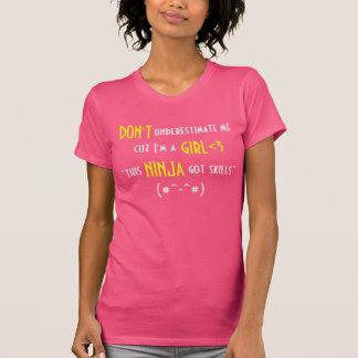 No me subestime… Las camisetas sin mangas de las