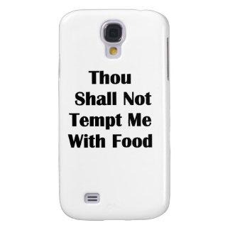 No me tiente con la comida funda para galaxy s4