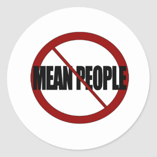 No Mean People Sticker