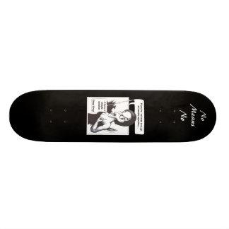No Means No Skateboard Deck