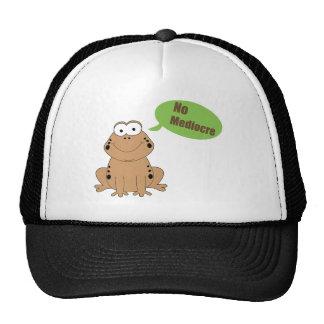 No Mediocre Cap Trucker Hat