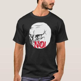 NO meme Black T-shirt! T-Shirt