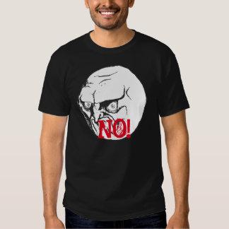 NO meme Black T-shirt! Tee Shirt