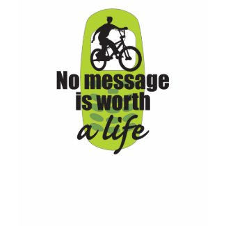 No Message is Worth a Life shirt