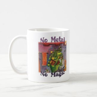 No Metal No Magic - Cornum Mug