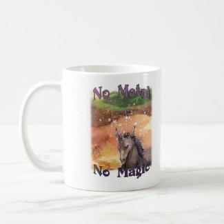 No Metal No Magic - Nix Mug