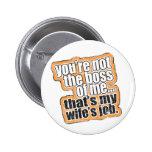 No mi botón de Boss Pins