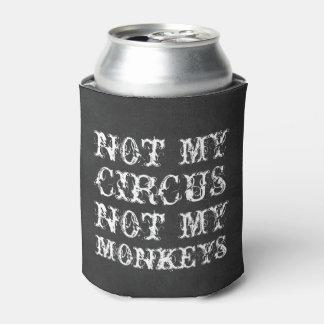 No mi circo no mi refrán polaco divertido de los enfriador de latas