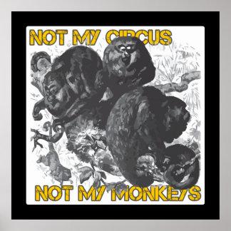 No mi circo no mis monos