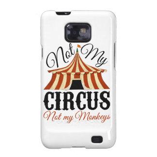 No mi circo - no mis monos samsung galaxy s2 funda