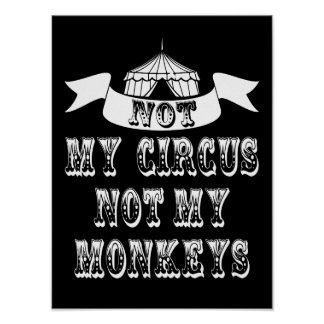 No mi circo póster