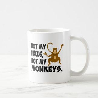 No mi circo taza clásica