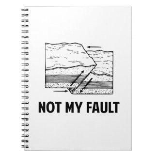 No mi falta cuaderno