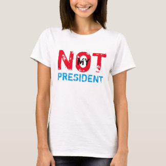 No mi presidente Trump Protest Playera