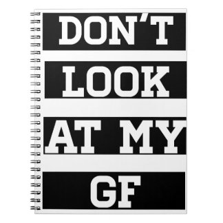 No mire a mi novia