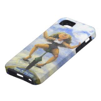 No mire abajo de la caja del teléfono funda para iPhone 5 tough