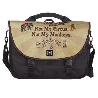 No mis monos, no mi circo bolsas para ordenador