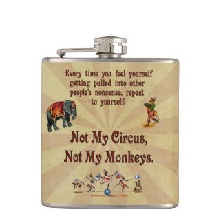 No mis monos, no mi circo petaca