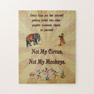 No mis monos, no mi circo puzzles con fotos