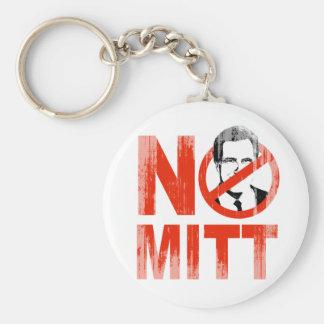 No Mitt.png Basic Round Button Keychain