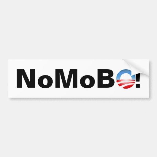 No Mo BO! Bumper Sticker