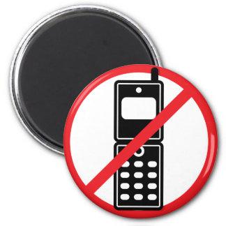 No Mobile Phones Refrigerator Magnets
