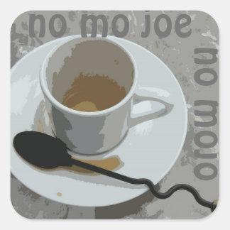 No Mojo Square Sticker