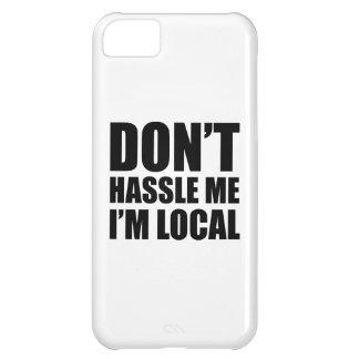 No molesta que soy local