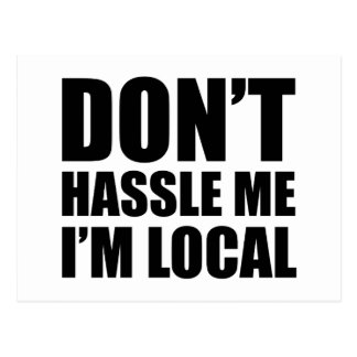 No molesta que soy local postal