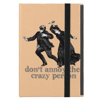 ¡No moleste a la persona loca iPad Mini Cárcasas