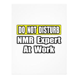 No moleste… al experto del RMN en el trabajo Tarjetón