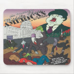 No Money Cover Illustration Mouse Pad