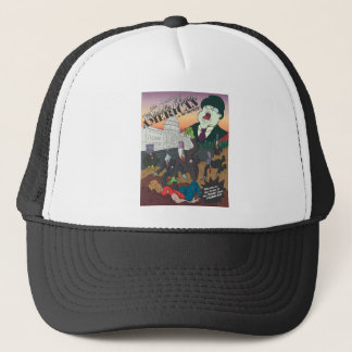 No Money Cover Illustration Trucker Hat