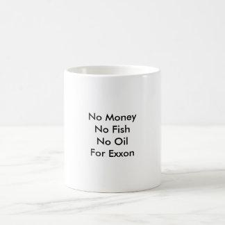 No MoneyNo FishNo OilFor Exxon Coffee Mug