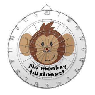 No Monkey Business Dart Board