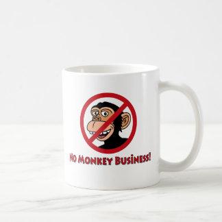 No Monkey Business Mug