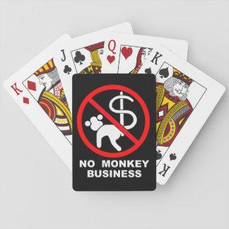 No monkey business poker deck