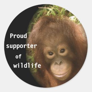 No Monkey Business Stickers