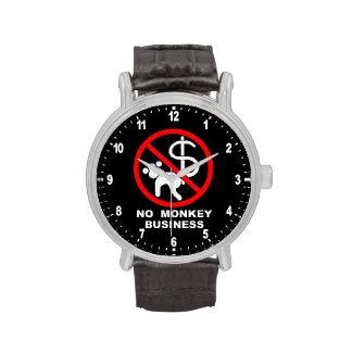 No monkey business wristwatches