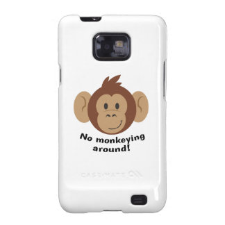 No Monkeying Around Galaxy SII Covers