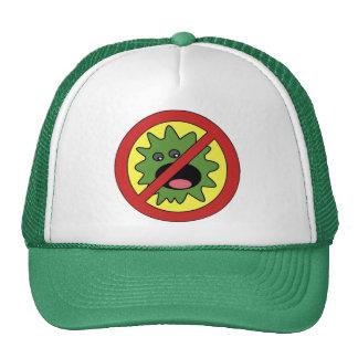 No Monsters Sign Trucker Hat
