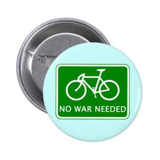 No monte en bicicleta ningún producto necesario gu pin redondo de 2 pulgadas